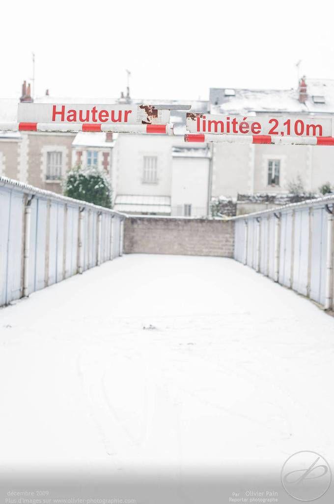 Photoreportage : Quand il neige à Tours, partie 2