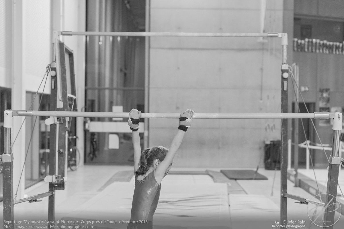 Reportage sur la gymnastique artistique féminine (GAF) réalisé à Saint Pierre des Corps près de Tours.