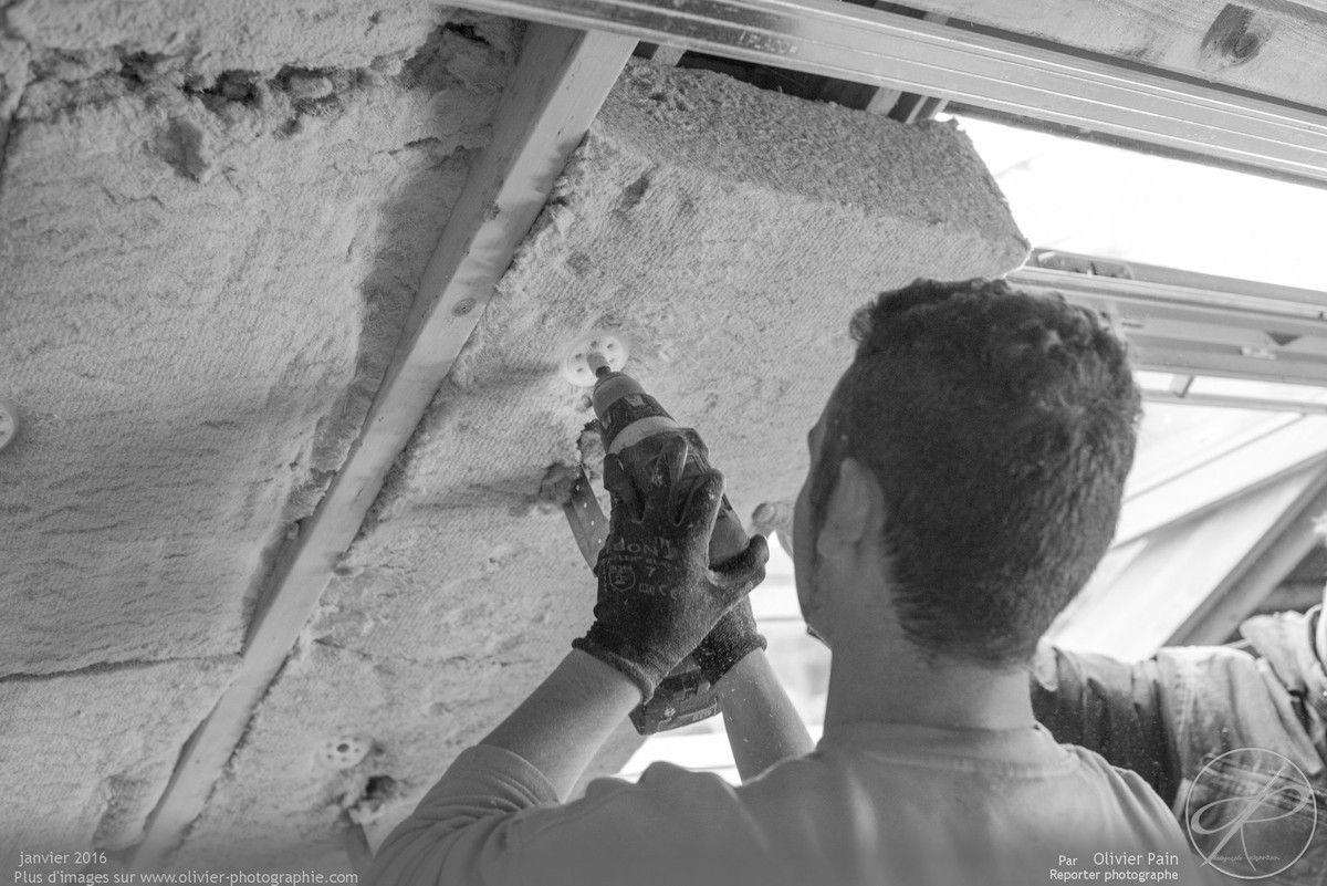 Photoreportage : Suivi de chantier à Tours pour Travaux Ecologiques