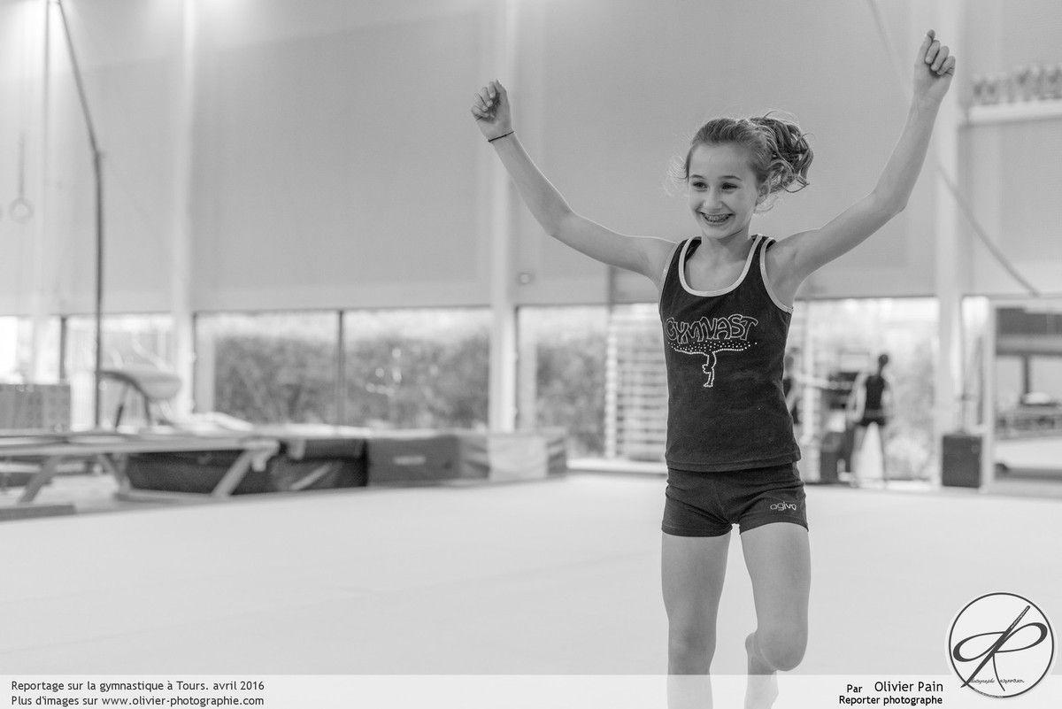 Reportage Gymnastes à Saint Pierre des Corps, le 25/04/2016 partie 2