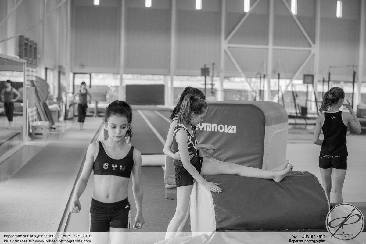 Reportage sur la gymnastique, suivi de jeunes gymnastes depuis 2011 au gymnase du Val Fleury à Saint Pierre des Corps près de Tours