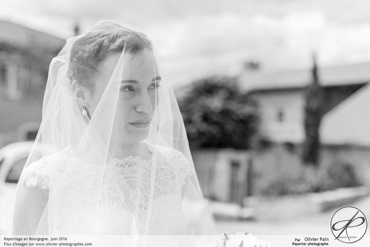 Reportage : Extrait d'un superbe mariage en Bourgogne, partie 1