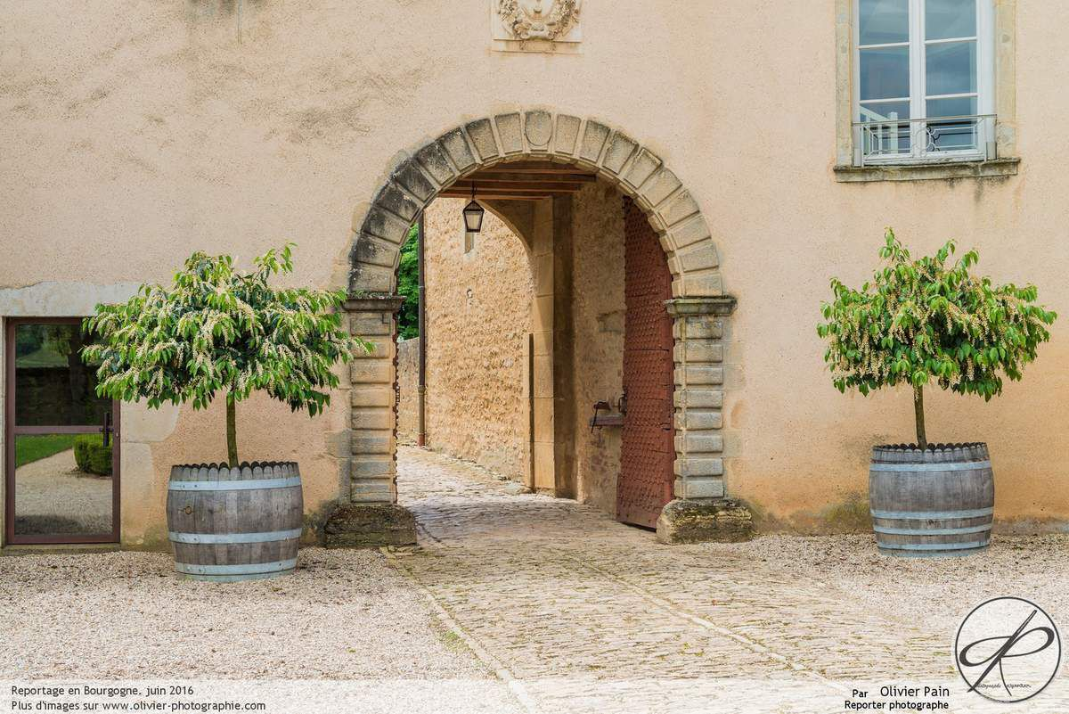 Le lieu de réception en Bourgogne d'un superbe mariage