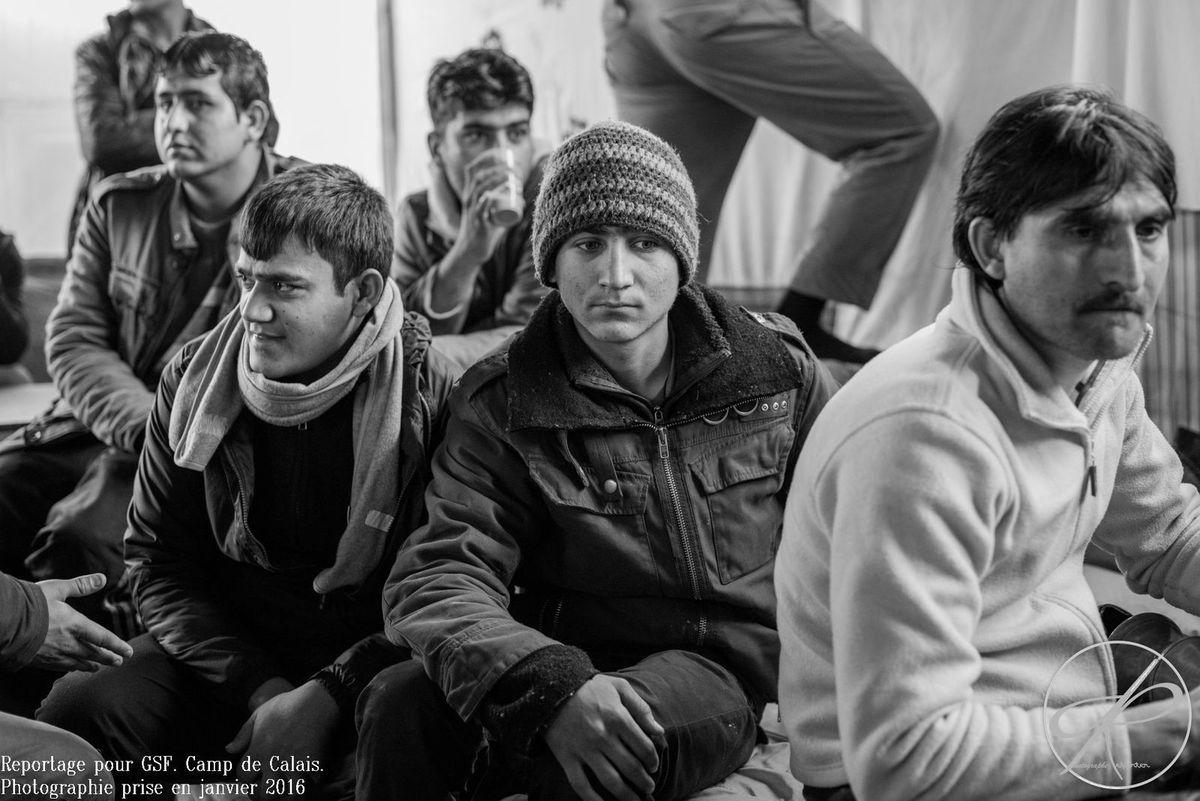 """Reportage """"Instants de vies migrantes"""" à Tours"""