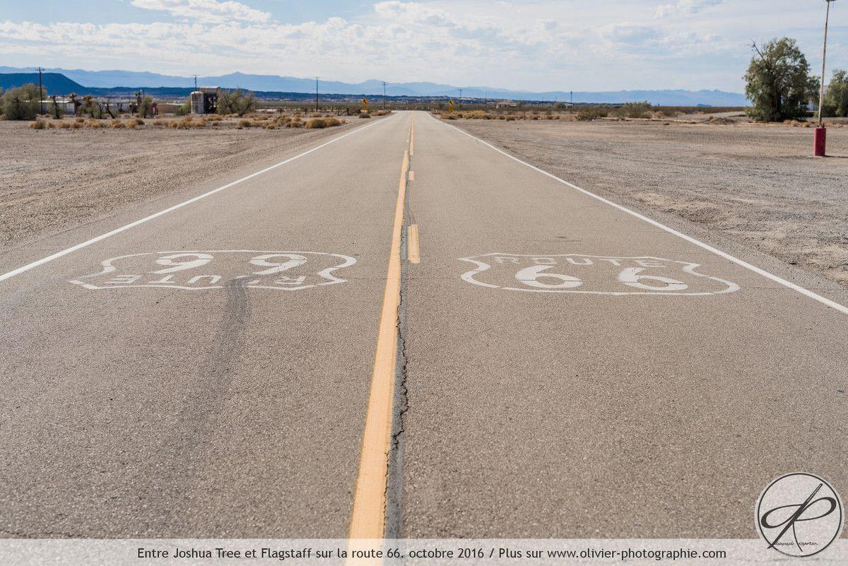 Photoreportage : Sur la route 66 entre Joshua Tree et Flagstaff
