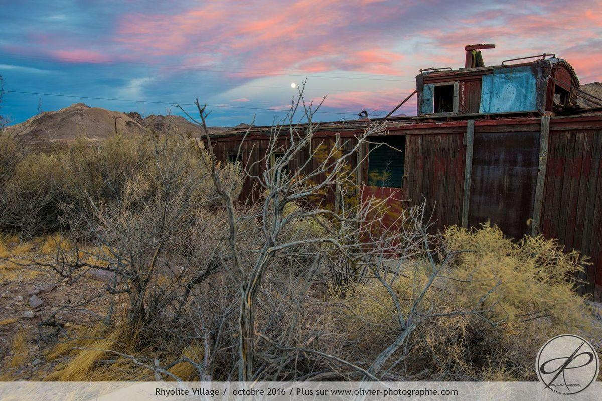 Un des nombreux villages abandonnés des USA devenus des centres touristiques.