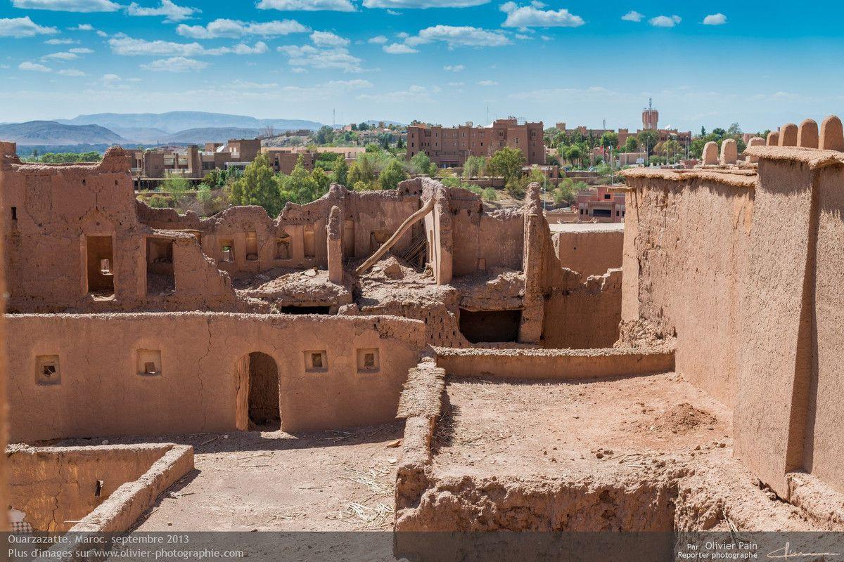 Ville de Ouazazatte au Maroc