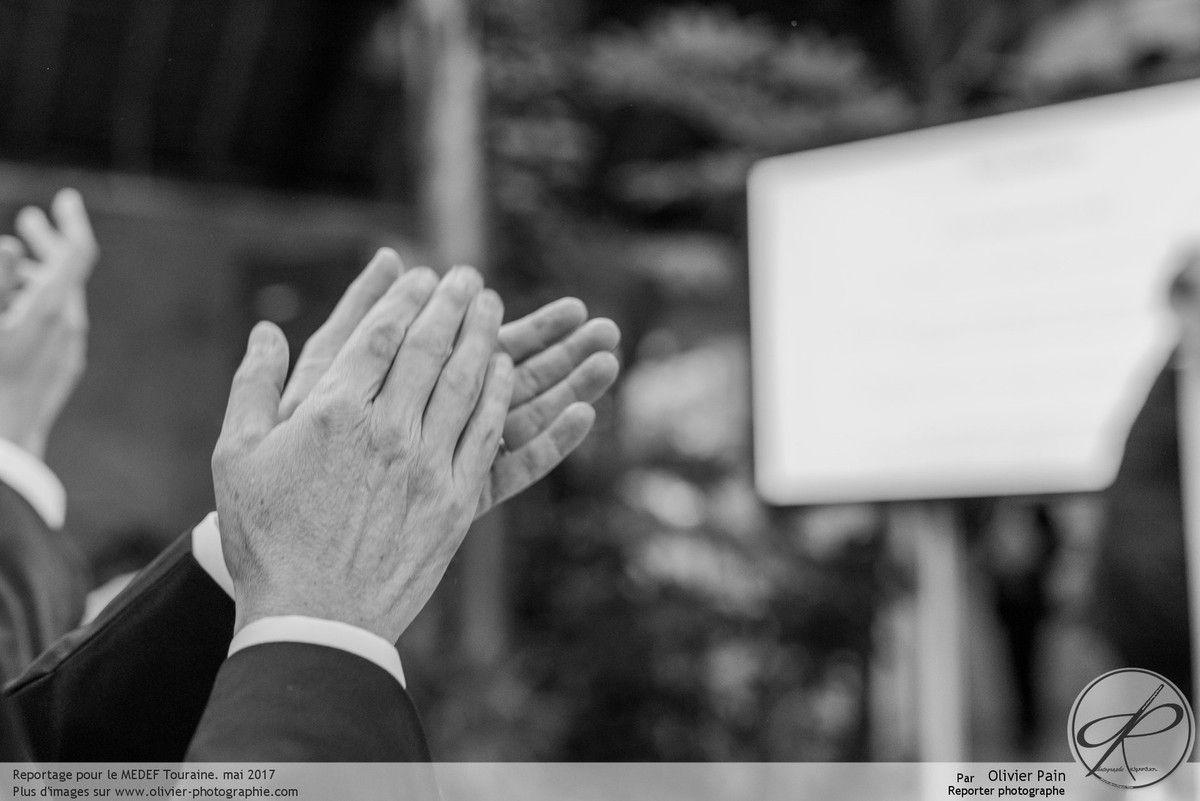 Reportage pour le MEDEF Touraine à Tours