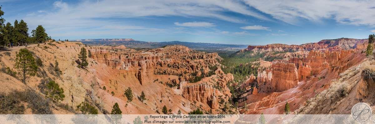 Reportage à Bryce Canyon aux états unis.