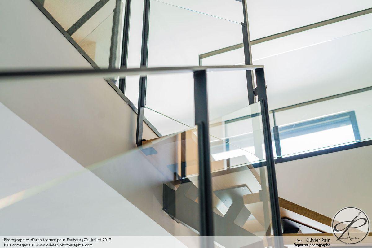 Photographie d'architecture intérieure à Tours
