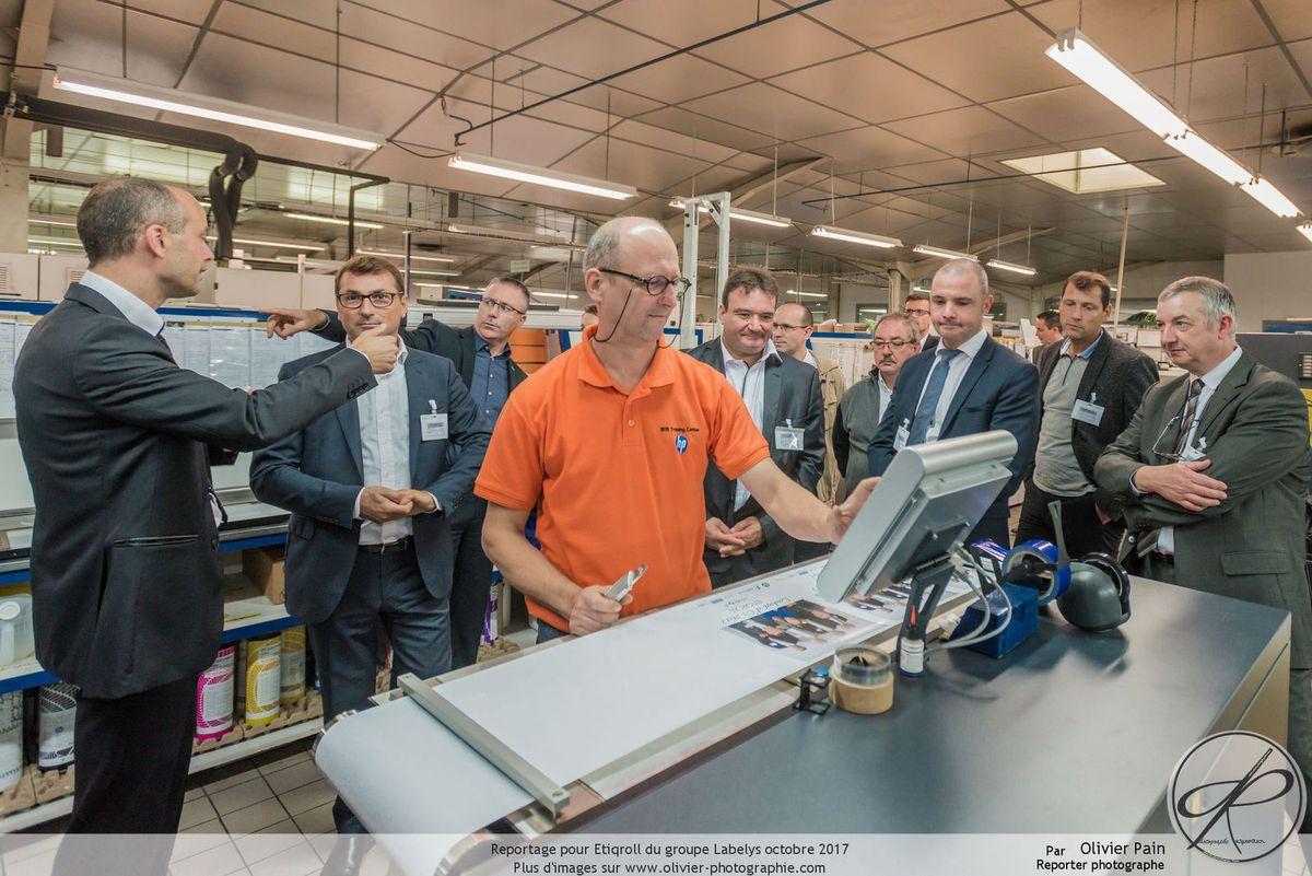 Reportage dans l'usine d'Etiqroll