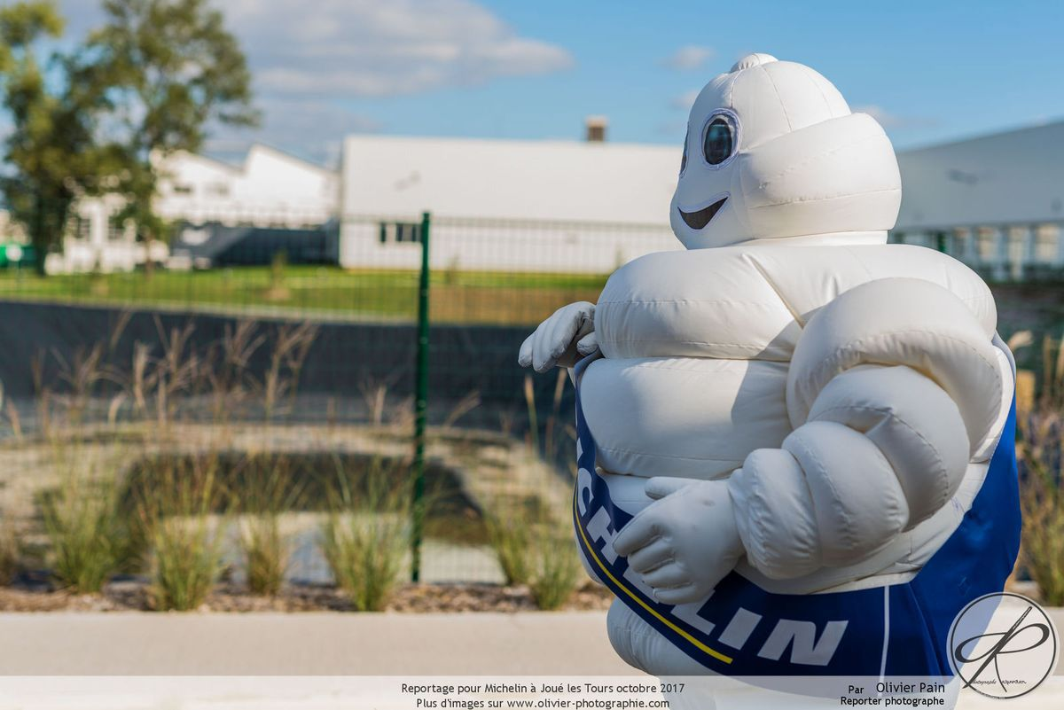Reportage pour Michelin : immersion et photo de groupe