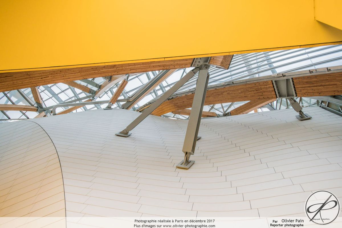 la fondation Louis Vuitton à Paris, partie 2