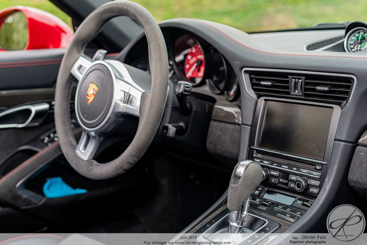 Photographies de la Porsche Carrera 4GTS