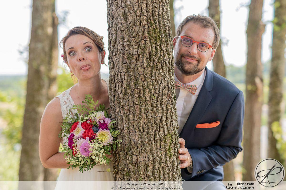Reportage mariage à Tours. Le superbe mariage de W&A.