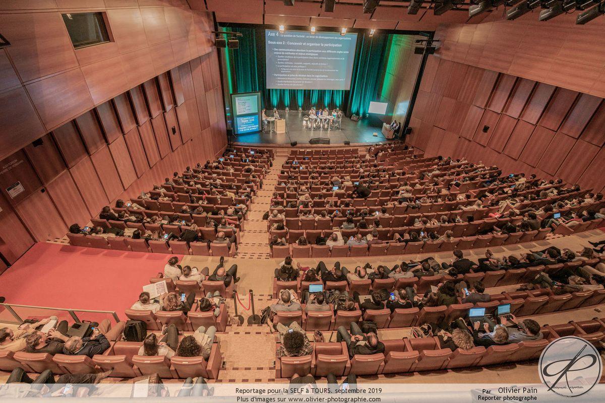 Reportage lors du congrès de la SELF, Vue d'ensembles, de conférences et d'architecture intérieure