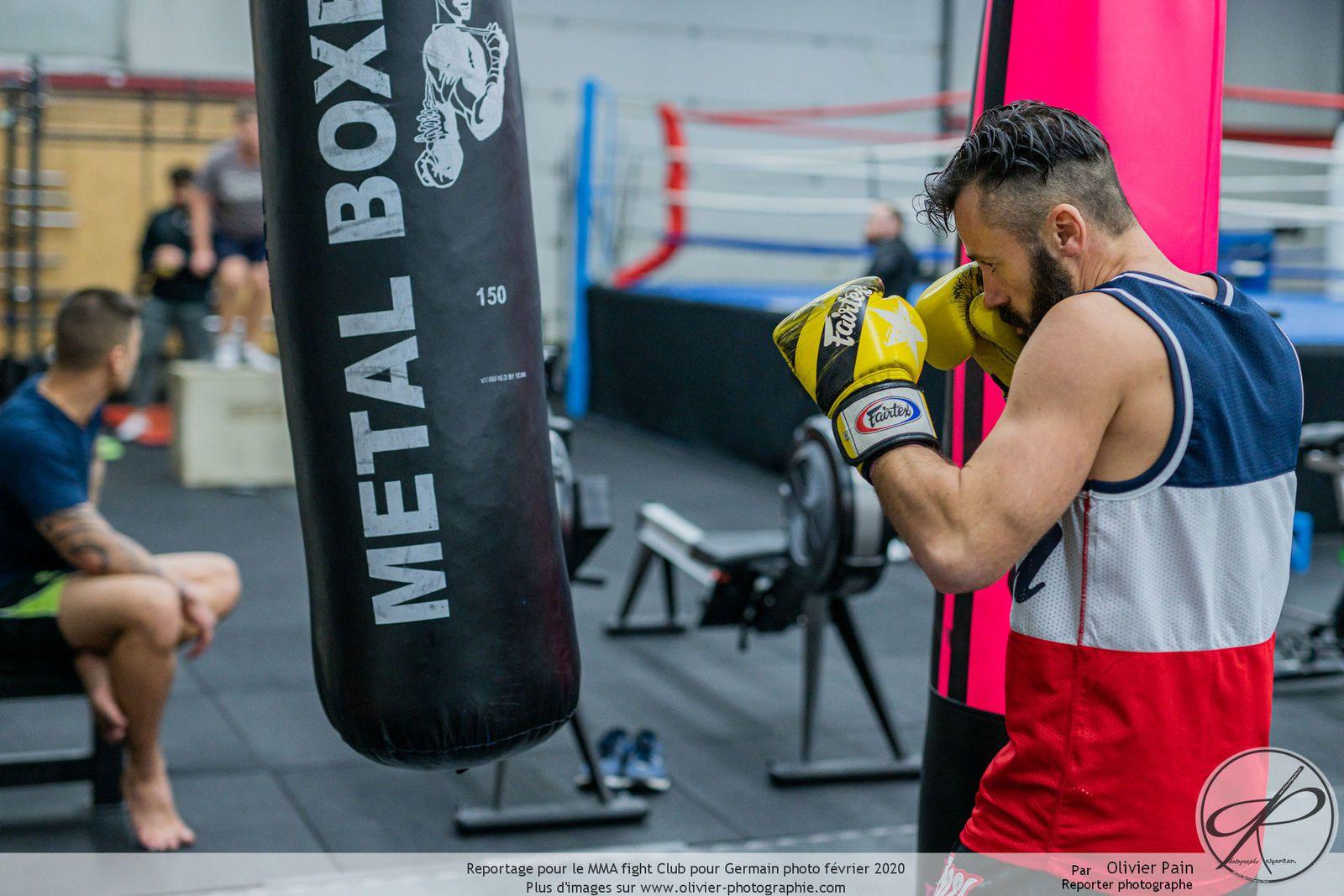 Reportage pour le MMA Fight Club Tours