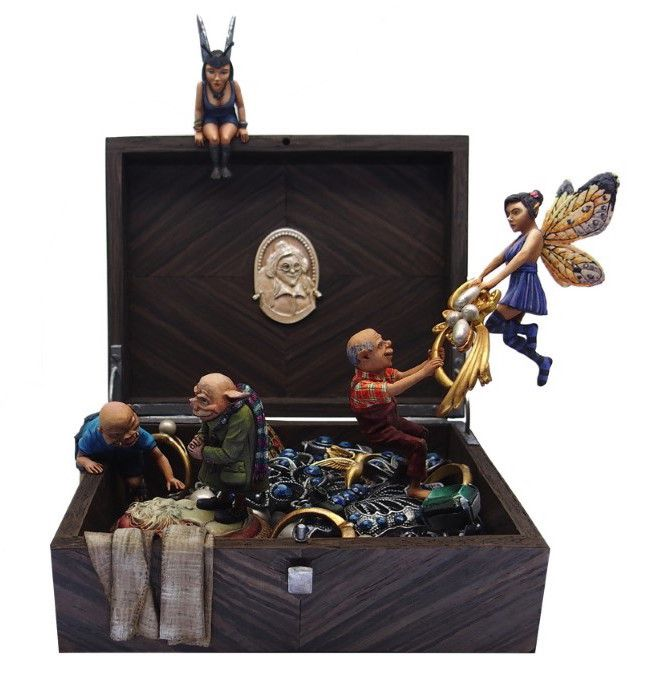 Boite a bijoux - Mini Monstres