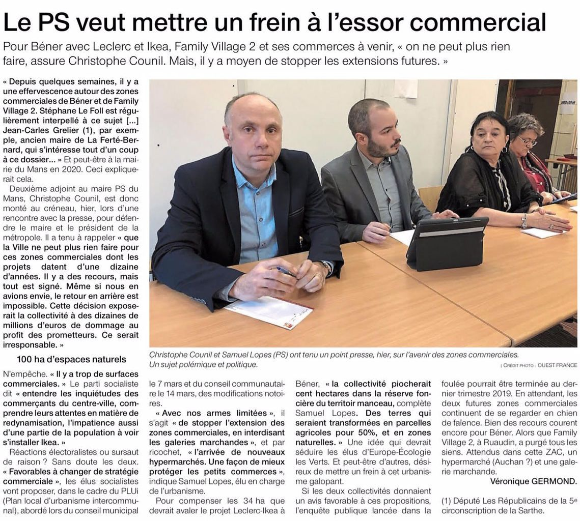 Ouest France - 08/02/2019