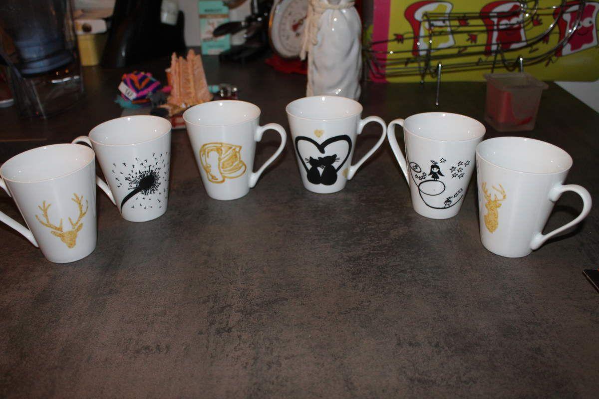 Tuto Peinture Sur Porcelaine diy personnalisation d'un mug - la bulle de marisone