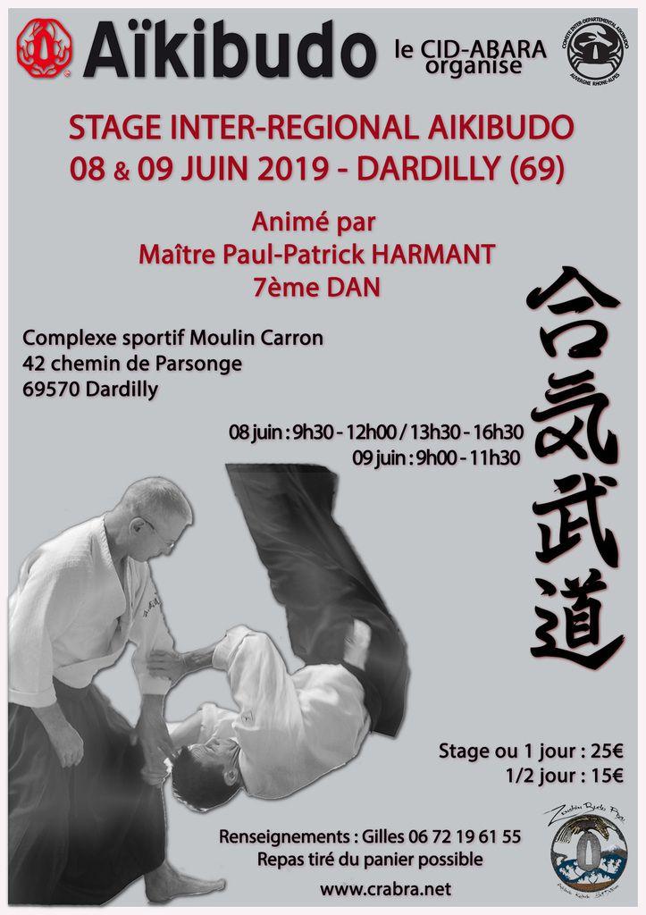 Stage AIKIBUDO 8 juin 2019 à Dardilly