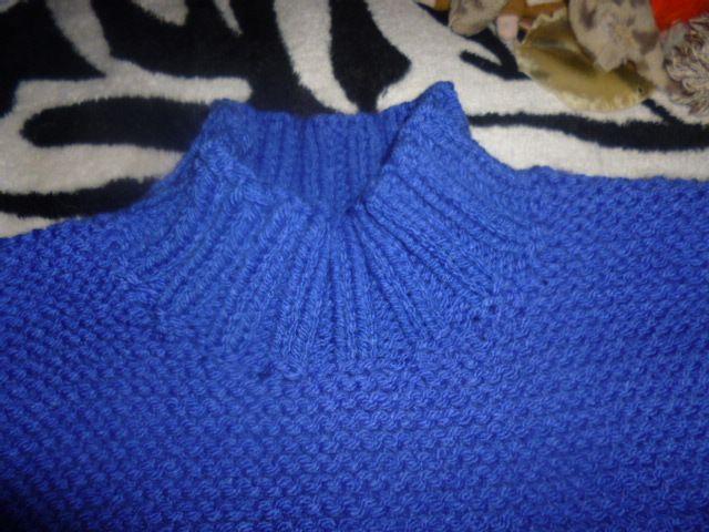 Tuto pull femme grosse laine