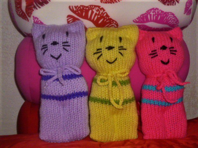 Tuto chat tricot