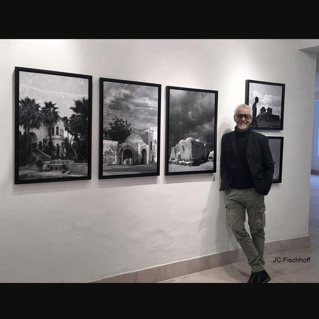Expo personnelle photos, tableaux, dessins / Tunisie