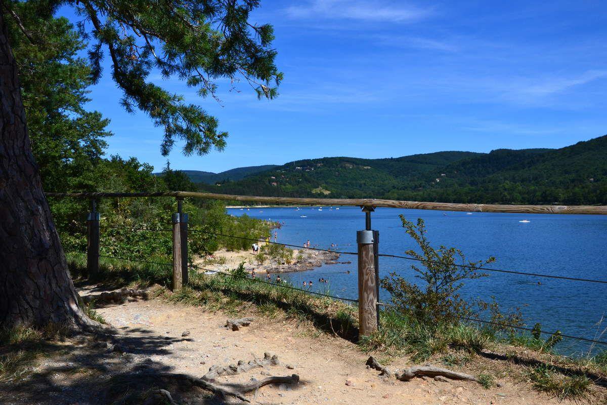 Le lac de st Ferréol à Revel #midipyrenees