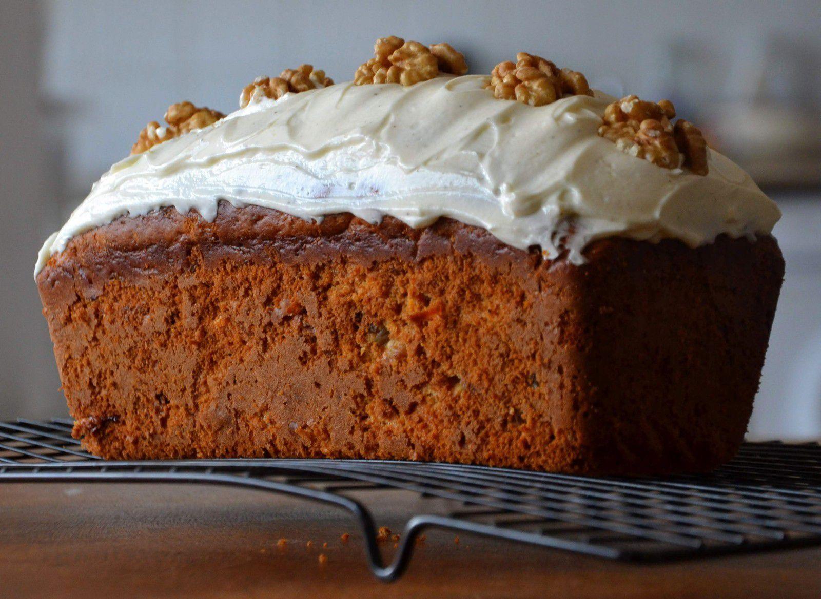 Le carott cake au miel
