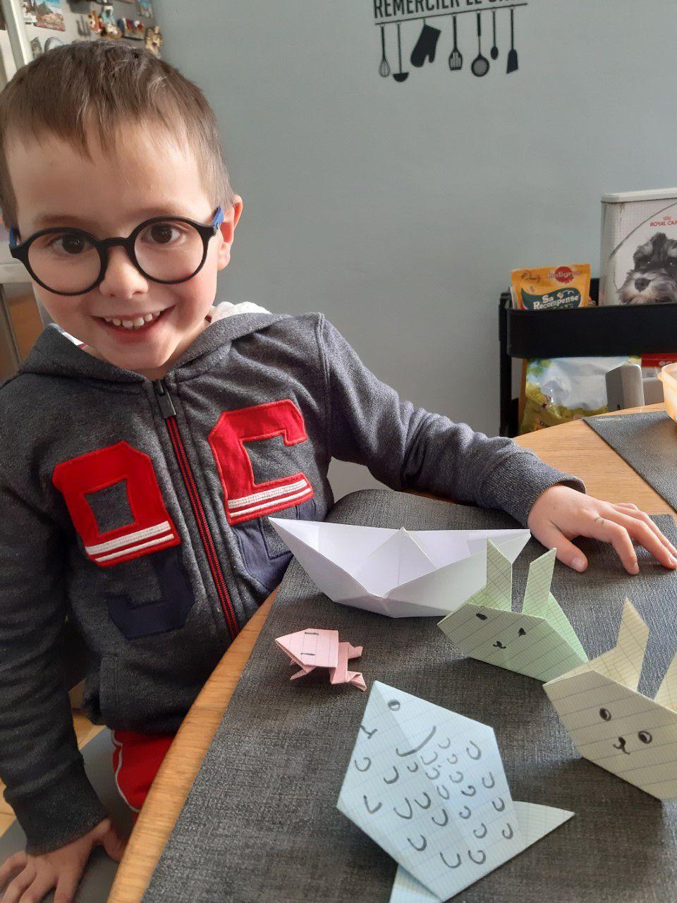 Défi origami