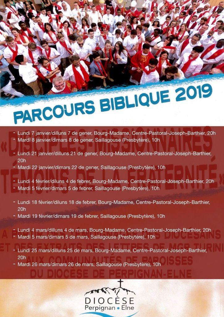 Parcours Bibliques / Recorregut Bíblic 2019...