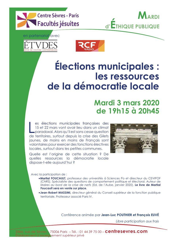 Les conférences du Centre Sèvres-Paris / Les conferències del Centre Sèvres-Paris...