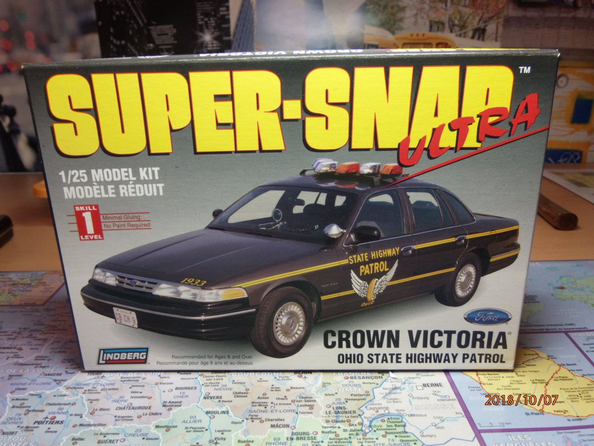 ford crown victoria ohio state highway patrol       1/...