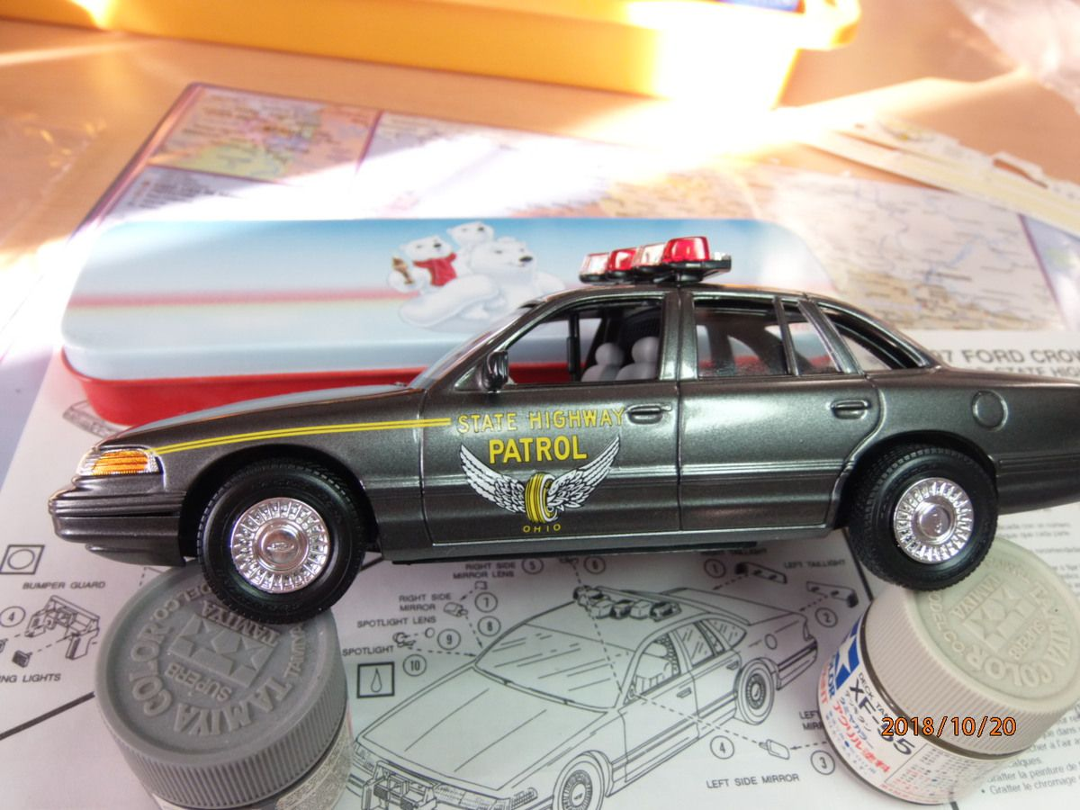 ford crown victoria ohio state highway patrol       2/.....