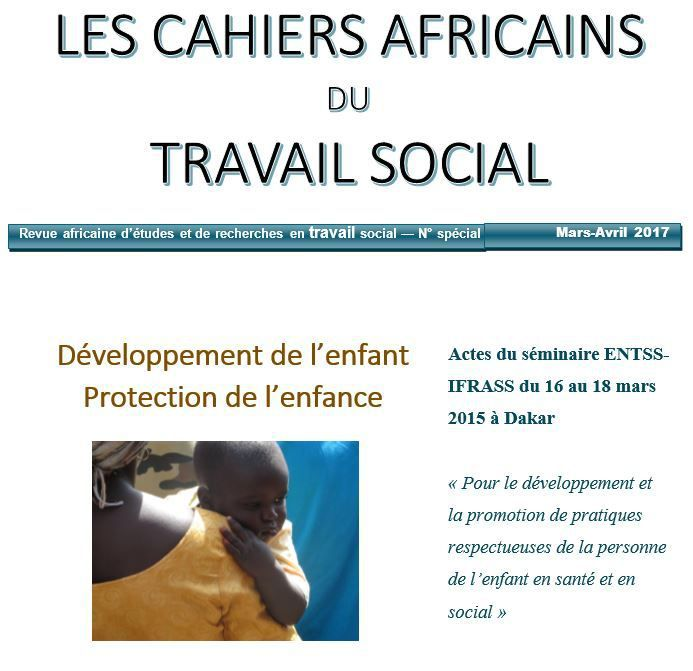 Publication Séminaire ENTSS / IFRASS - Editions du Champ Social