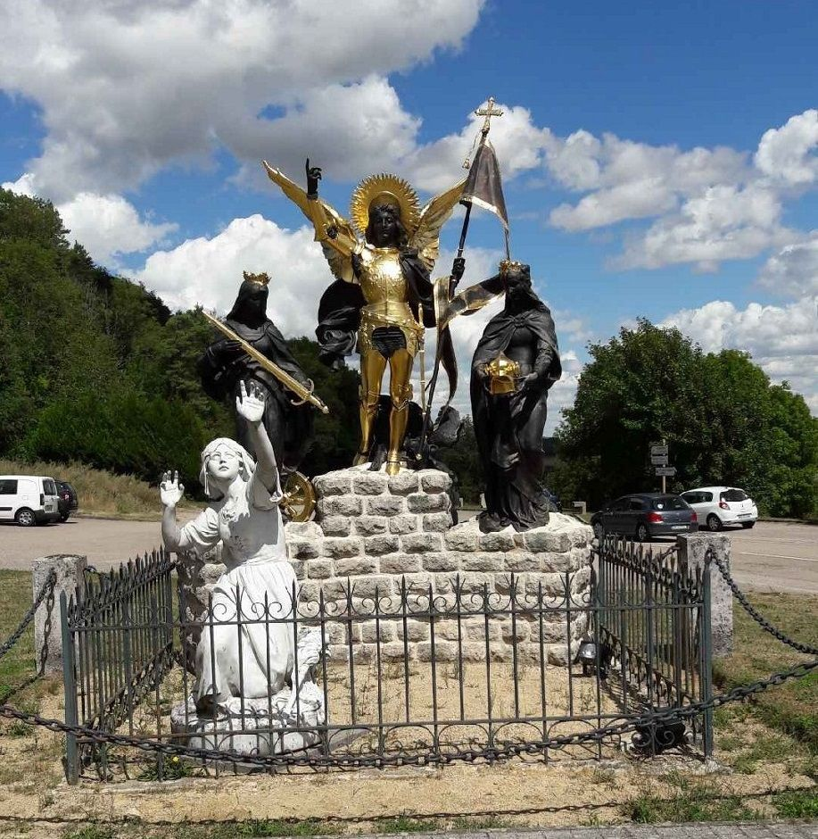 Jeanne d'Arc a entendu des voix. (Photo de Marie-France Sagory).