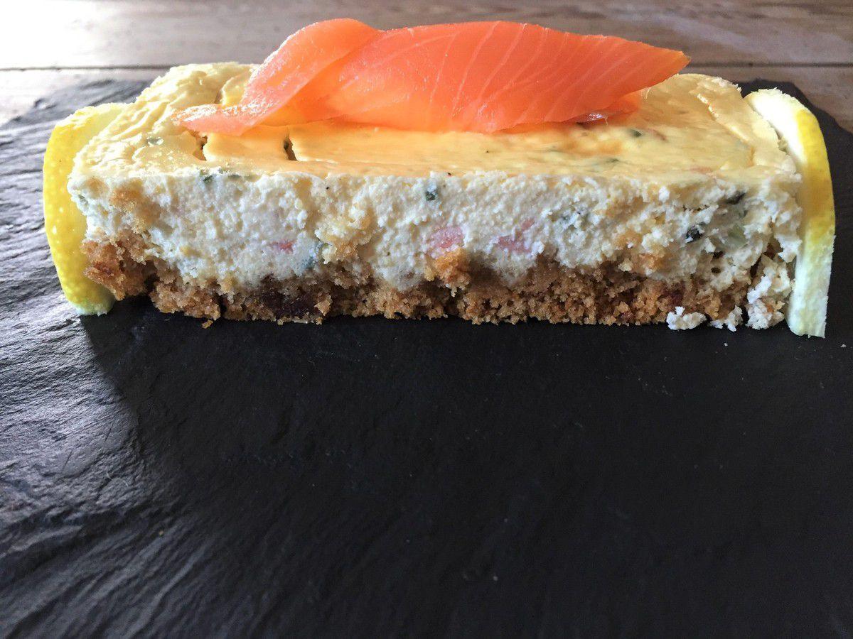 cheesecake de saumon