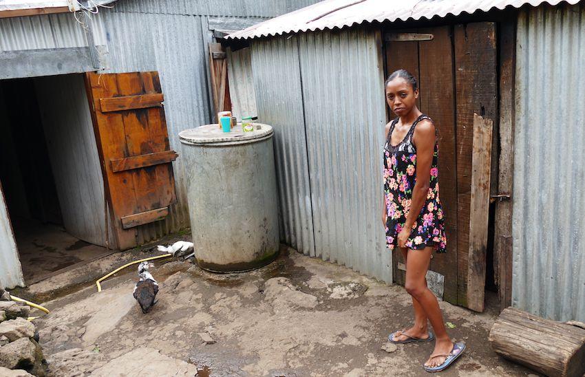 De nombreux Mafatais vivent dans des conditions difficiles. (LD)