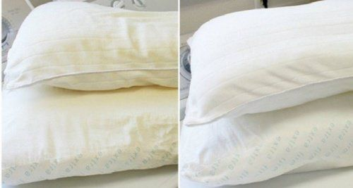 Blanqueador casero para tus almohadas