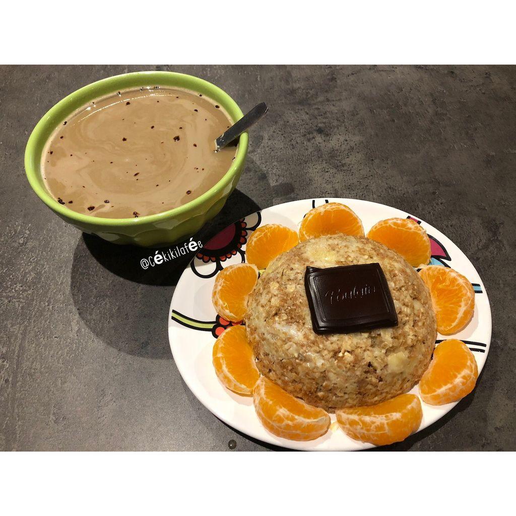 Parfait au petit déjeuner