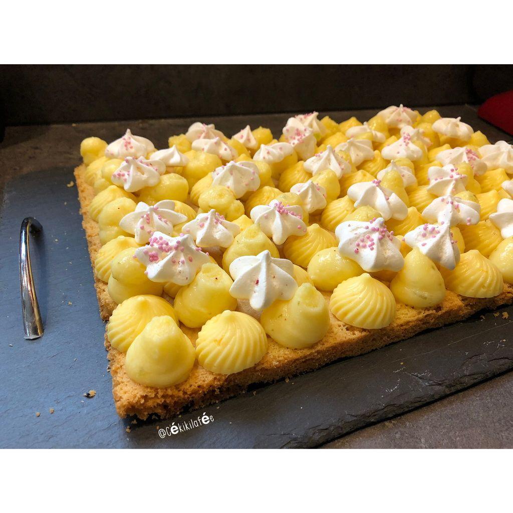 Tarte citron et orange