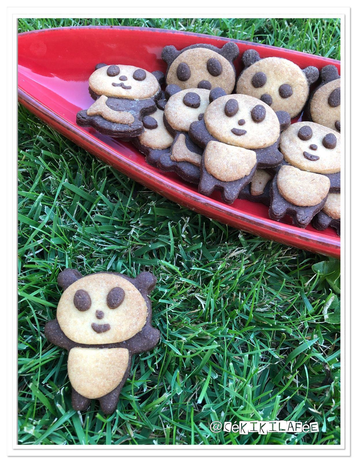 Biscuits panda