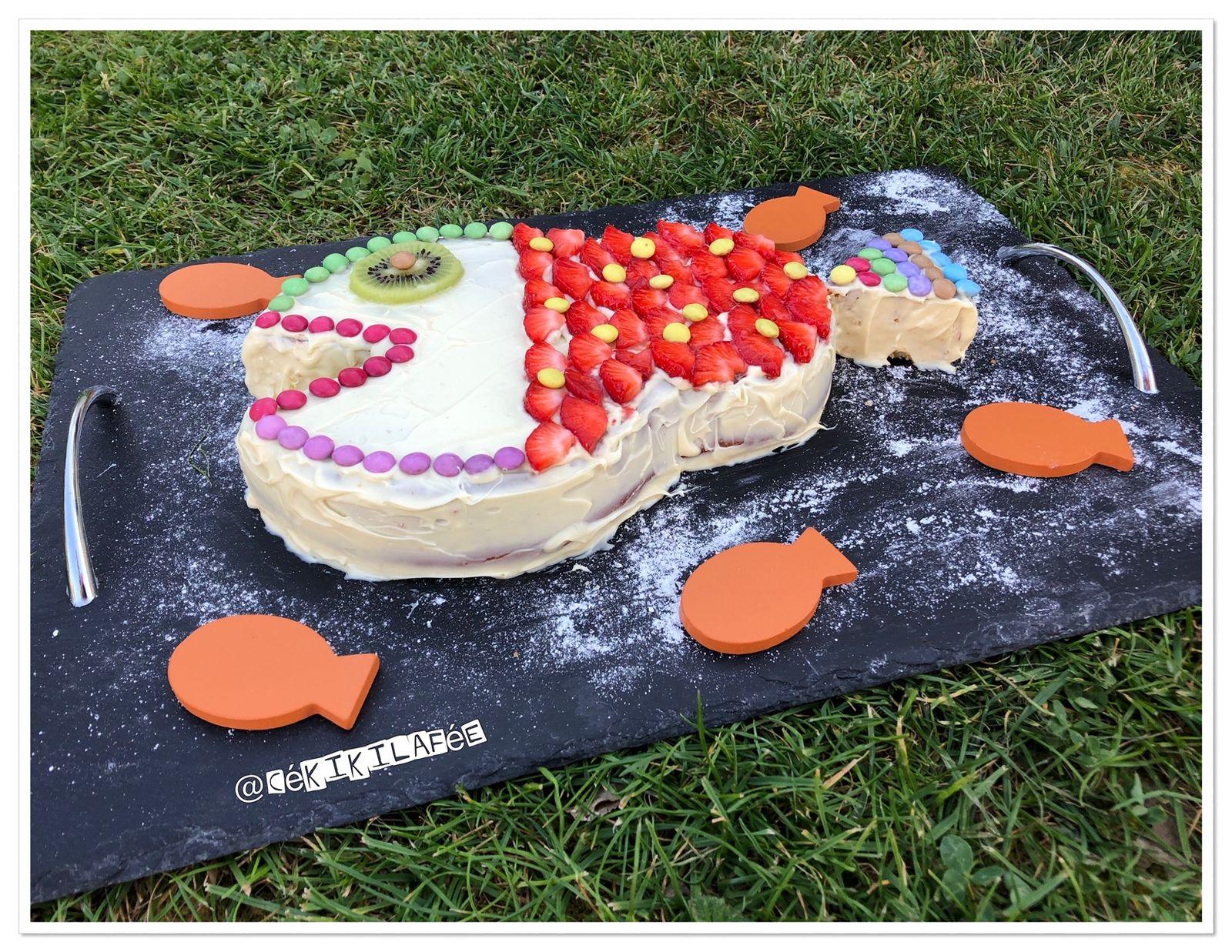 Gâteau poisson d'avril