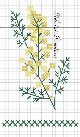 Due piccoli free per festeggiare!!! ... La mimosa, è anche simbolo di forza che a noi donne non manca, Giusto??