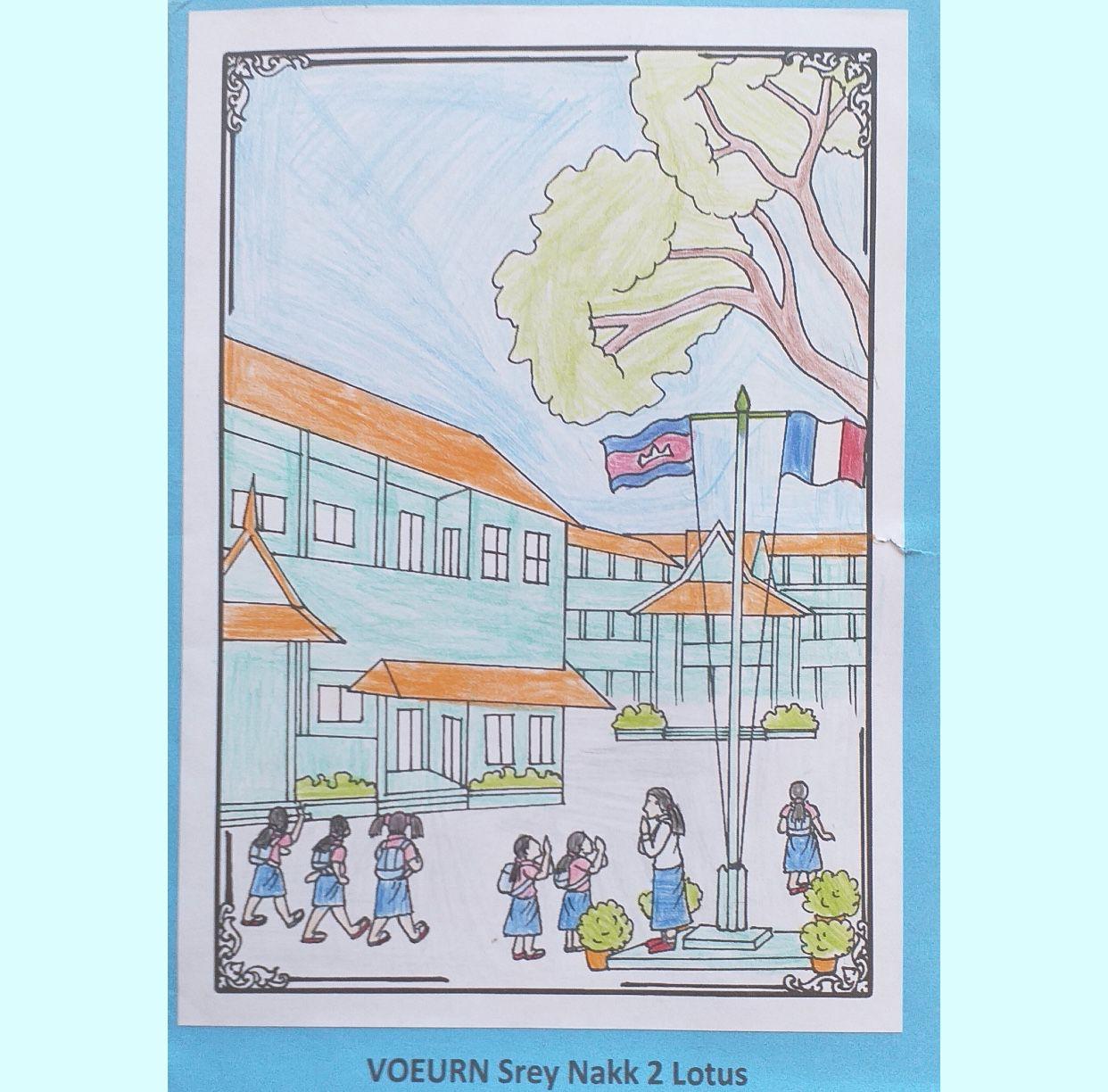 Voici des coloriages réalisés par les élèves de Lily School Paris!