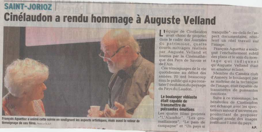 Article DL de Monsieur Alain Perraud