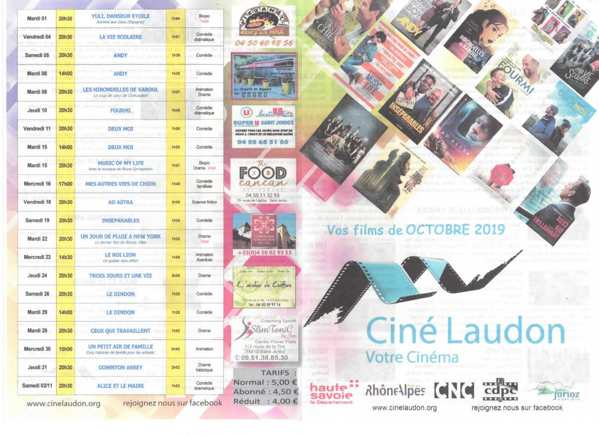 Flyer Octobre 2019