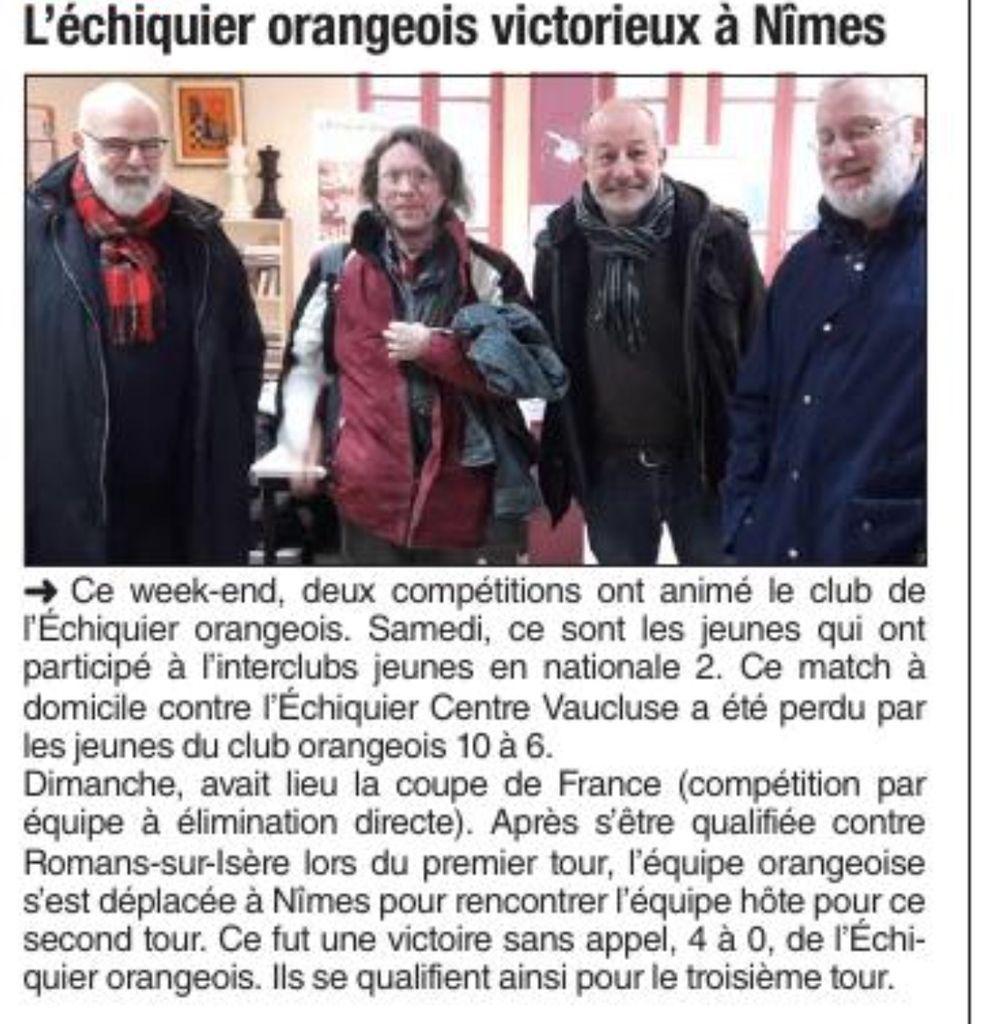 Vaucluse Matin 14/12/2017