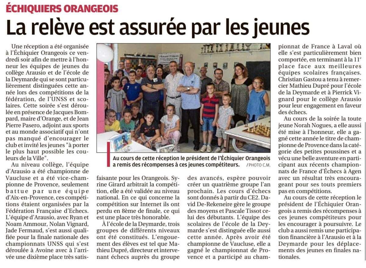 La Provence 27/06/2018